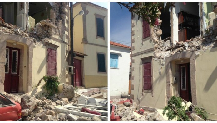Ισχυρός σεισμός στη Μυτιλήνη: ΝΕΚΡΗ ανασύρθηκε μια 43χρονη γυναίκα από τη Βρίσα