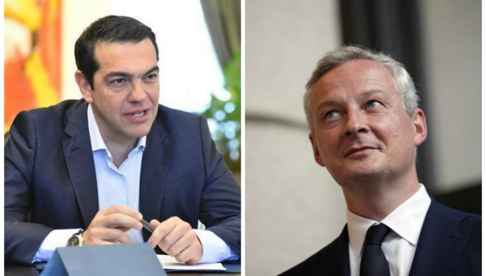 Διαβουλεύσεις για το χρέος: Στην Αθήνα ο Λεμέρ  – Βλέπει Τσίπρα και Τσακαλώτο
