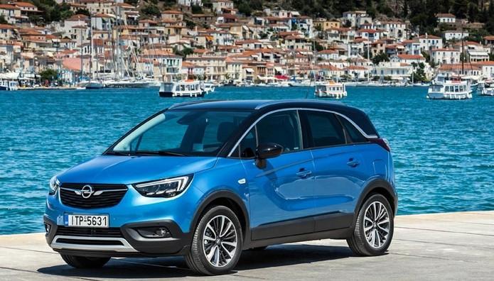 Δοκιμάσαμε το  νέο  Opel Crossland X στα Μέθανα