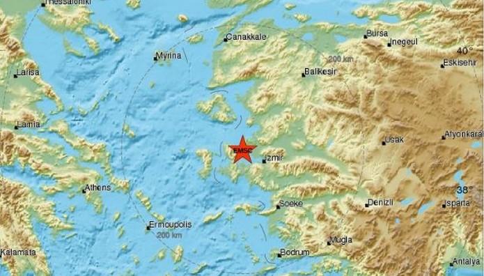 Με σεισμική δόνηση ξύπνησαν σε Χίο και Λέσβο