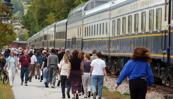 Ένα vintage ταξίδι με τρένο