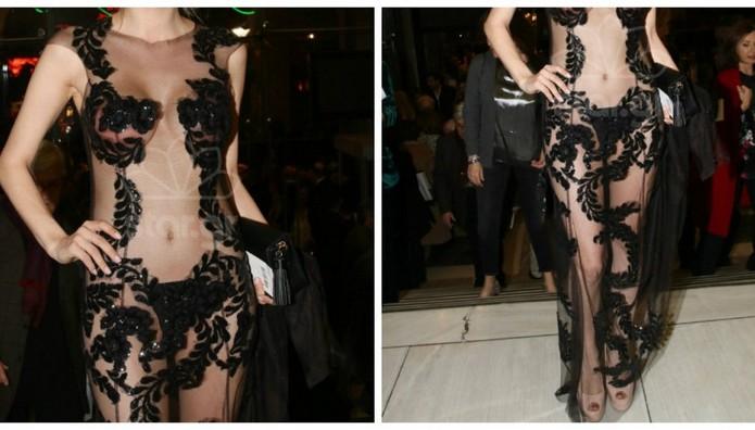 Δείτε πως πήγε ντυμένη στην πρεμιέρα του Cabaret!