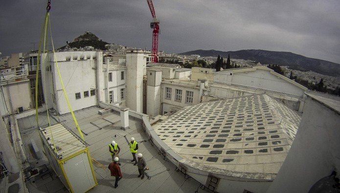 Εργασίες στη Βουλή των Ελλήνων
