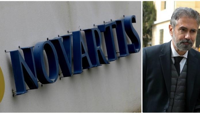 Εξώδικο Φρουζή προς τη Novartis Hellas