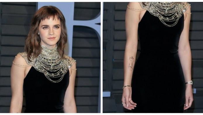 H Emma Watson «χτύπησε» τατουάζ... λάθος!