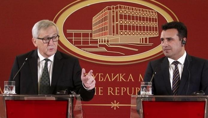 Γιούνκερ: Οι Μακεδόνες σημειώνουν σημαντική πρόοδο
