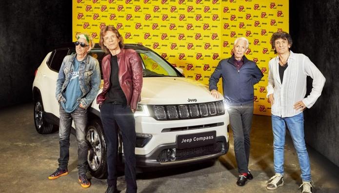 Ποια σχέση έχει το Jeep Compass  με τους  Rolling Stones