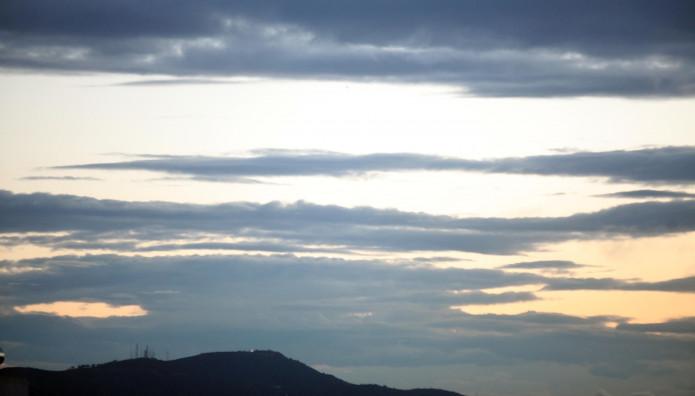 Ο αττικός ουρανός μετά την καταιγίδα