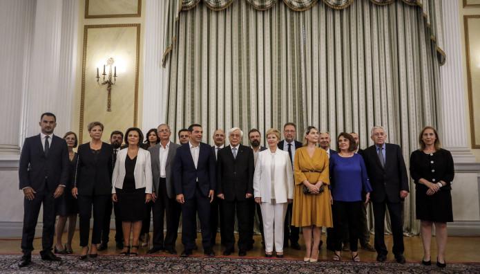 Οι νέοι υπουργοί