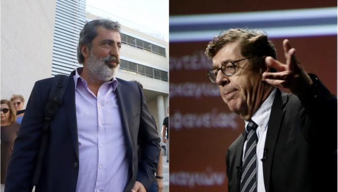 Ο Παύλος Πολάκης και ο Κώστας Συνολάκης