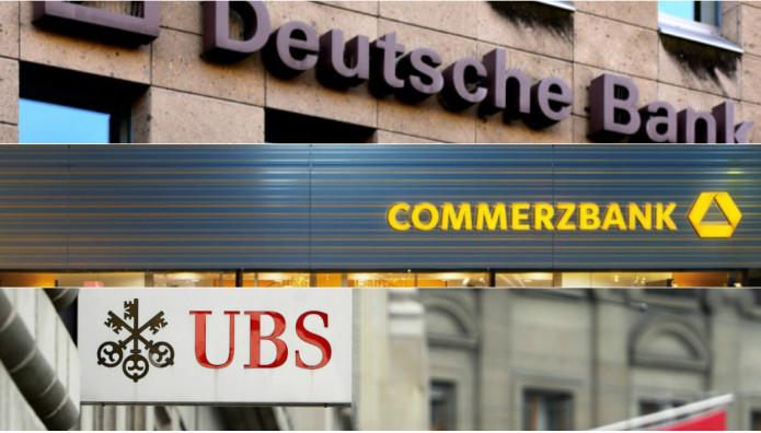 Deutsche Bank Commerzbank UBS