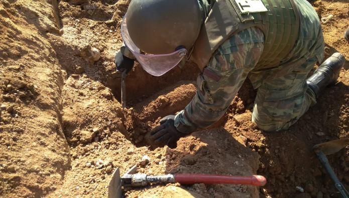 Εξουδετέρωση βόμβας στο Ίλιον από το ΤΕΝΞ