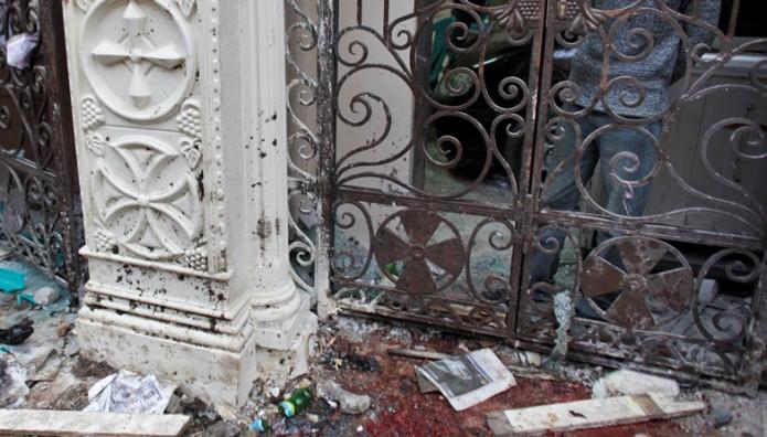 βόμβα σε εκκλησία στην Αίγυπτο