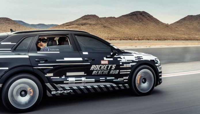 Audi Marvel's Avengers: Rocket's Rescue Run