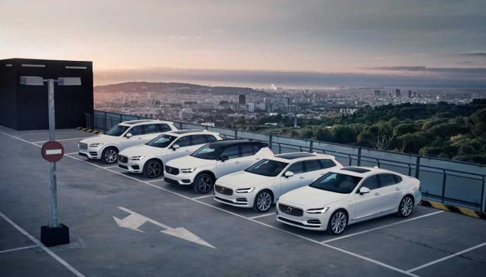 Volvo πωλήσεις