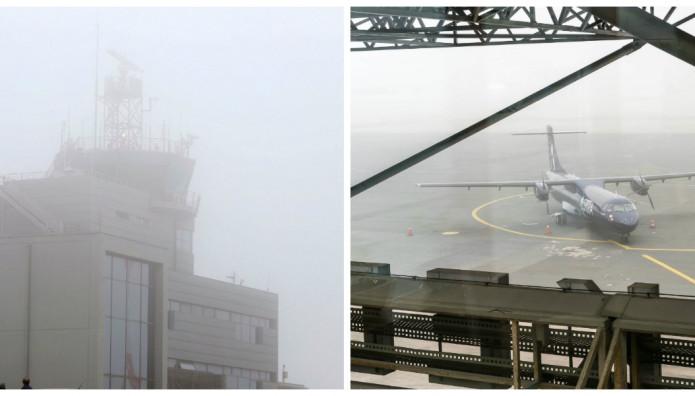 αεροδρομιο μακεδονια ομιχλη