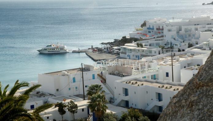 Το λιμάνι της Μυκόνου