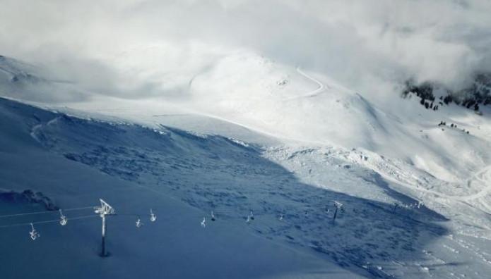 Χιονοστιβάδα 1 εκατ. Τόνων Κάλυψε Το Χιονοδρομικό Καλαβρύτων