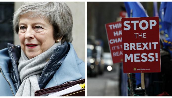 brexit τερεζα μει