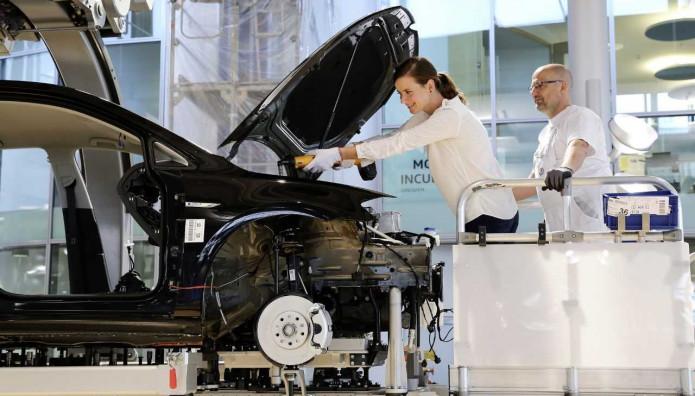 VW  e Golf παραγωγή
