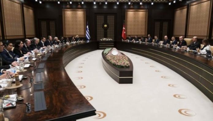 Αντιπροσωπείες Ελλάδας Τουρκίας στην ΄Αγκυρα