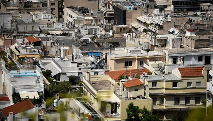 Γειτονιά της Αθήνας - Φωτογραφία απο ψηλά