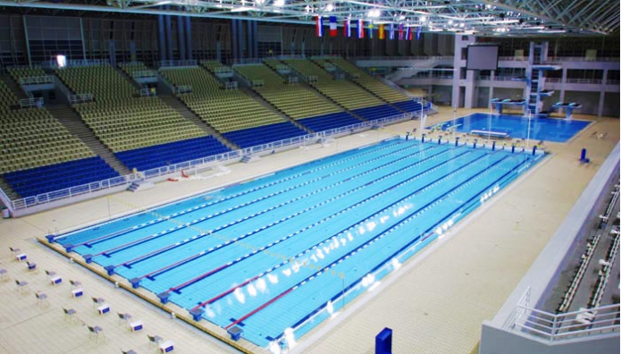 Το κλειστό κολυμβητήριο στο ΟΑΚΑ