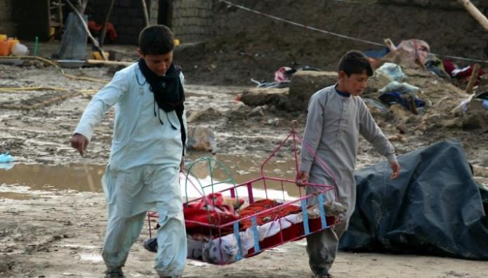 Πλημμύρες Αφγανιστάν