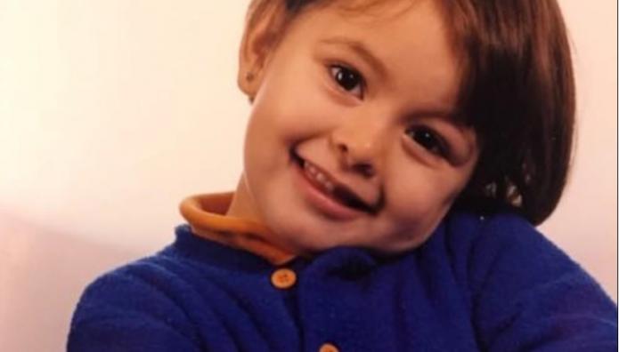 Εύη Ιωαννίδου σε μικρή ηλικία
