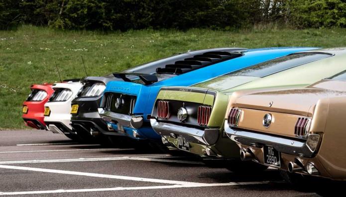 Ford Mustang γενέθλια