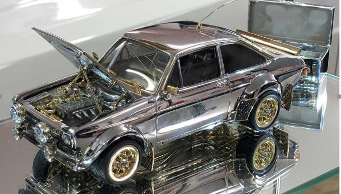 Ford Escort MK2 χρυσό
