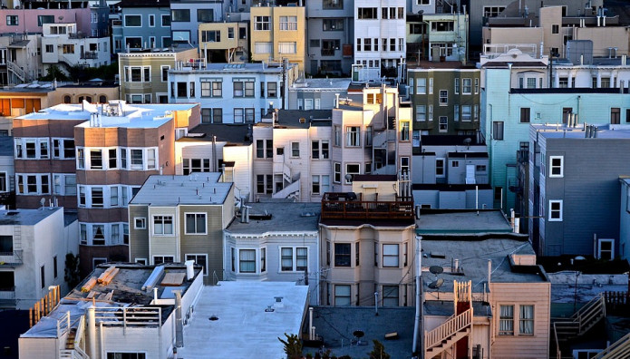 Σπίτια σε πόλη