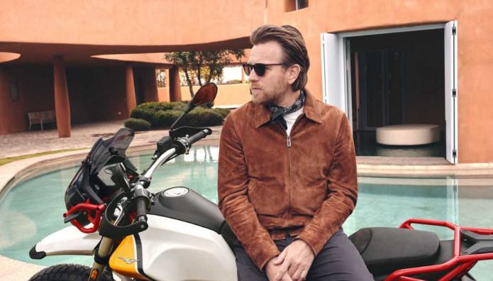 Moto Guzzi V85 TT Ewan McGregor
