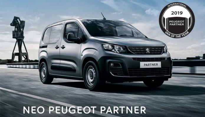 Peugeot Partner Van τιμή
