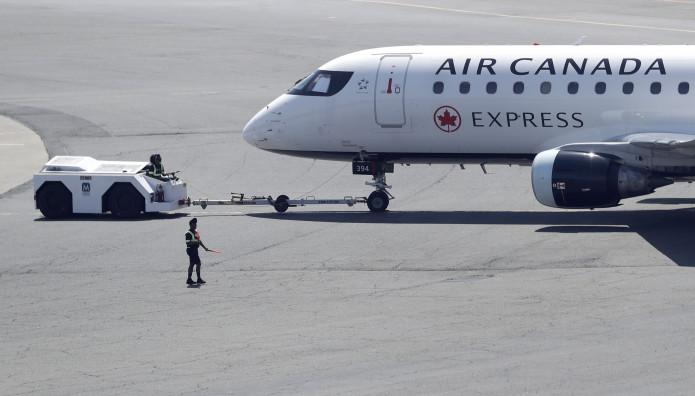 αεροπλάνο της Air Canada
