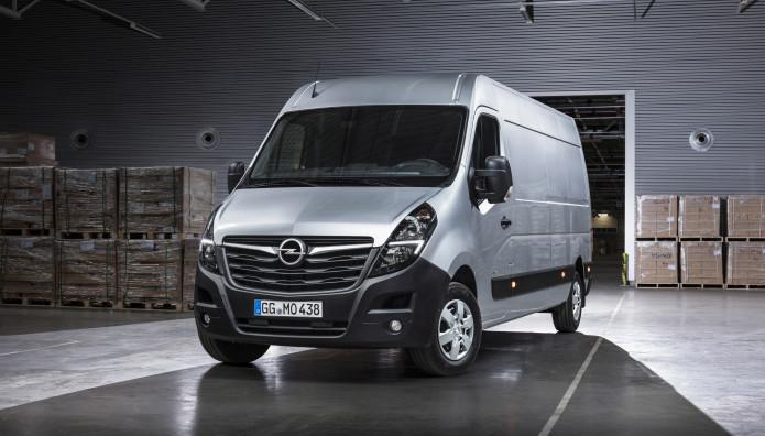 Opel Movano τιμή Γερμανία