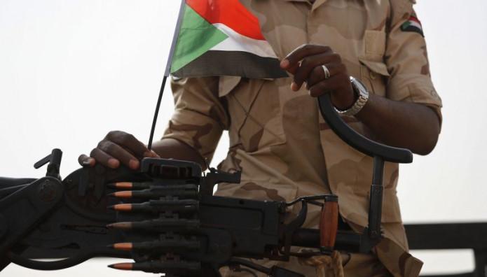 στρατιώτης στο Σουδάν