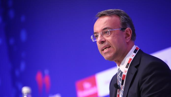 Ο Χρήστος Σταϊκούρας στο συνέδριο του Economist