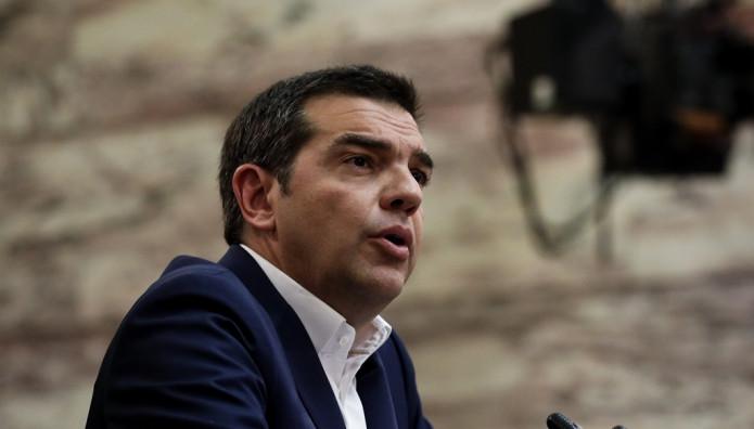 Ο Τσίπρας στην ΚΟ ΣΥΡΙΖΑ