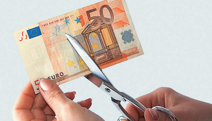 ευρώ ψαλίδι