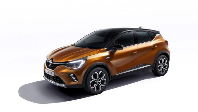 Renault CAPTUR νέο έκθεση αυτοκινήτου Φρανκφούρτη