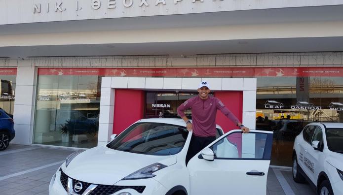Nissan Juke Εμμανουήλ Κάραλης