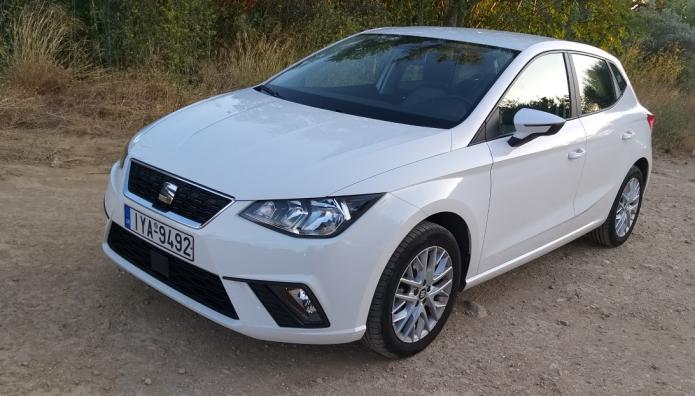 Seat Ibiza 1.0 δοκιμή test