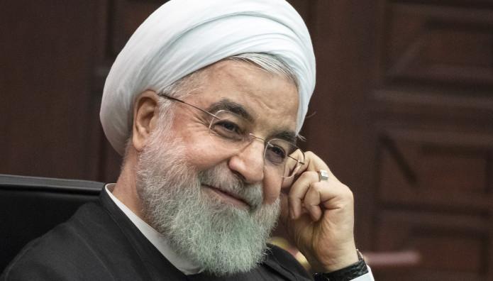 Ο Πρόεδρος του Ιράν Χασάν Ροχανί