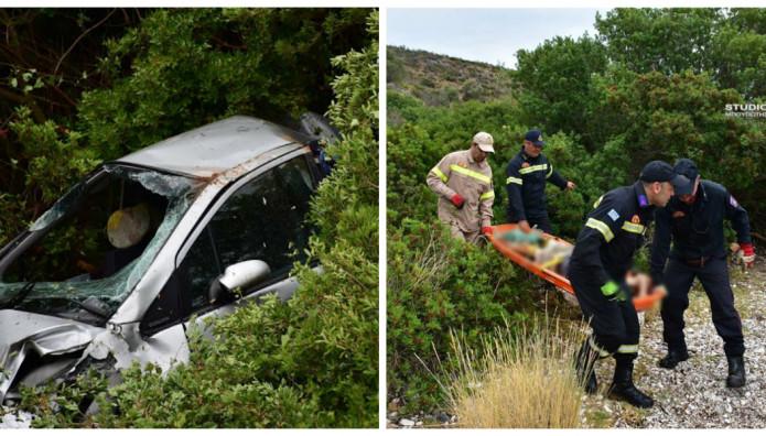 Οδηγός Έπεσε Με Το ΙΧ Σ Γκρεμό Και Σκοτώθηκε