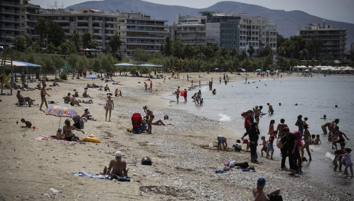 παραλία Μπάτη Παλαιού Φαλήρου