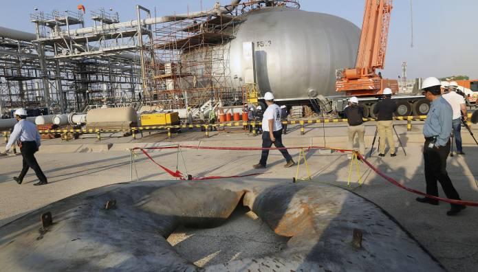 Πετρελαϊκές εγκαταστάσεις στο Ριάντ