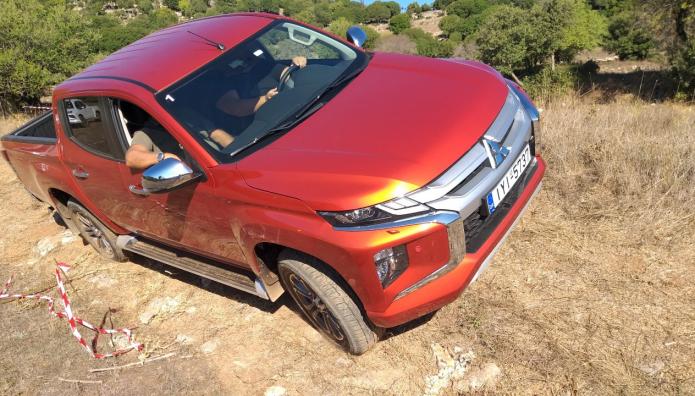 Mitsubishi L200 δοκιμή Ελλάδα Μαίναλον Βυτίνα