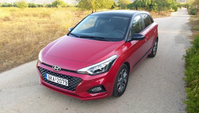 Hyundai i20 1.0 7-DGT δοκιμή test