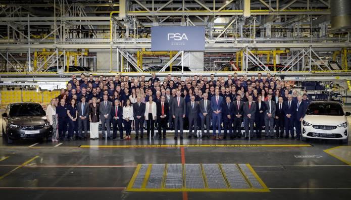 Νέο Opel Corsa Εργοστάσιο Σαραγόσα.